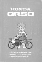 download 1993 honda qr50 owner s manual pdf 36 pages rh ownersmanuals2 com GCV160 Service Manual Honda Motorcycle Service Manual