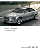 2013 audi a4 s4 owner s manual 302 pages pdf rh ownersmanuals2 com 2013 audi allroad owners manual pdf 2014 audi allroad owners manual