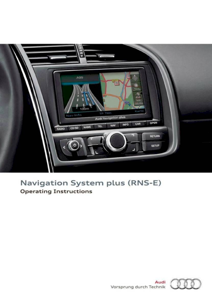 2014 audi r8 spyder navigation system plus rns e 84. Black Bedroom Furniture Sets. Home Design Ideas