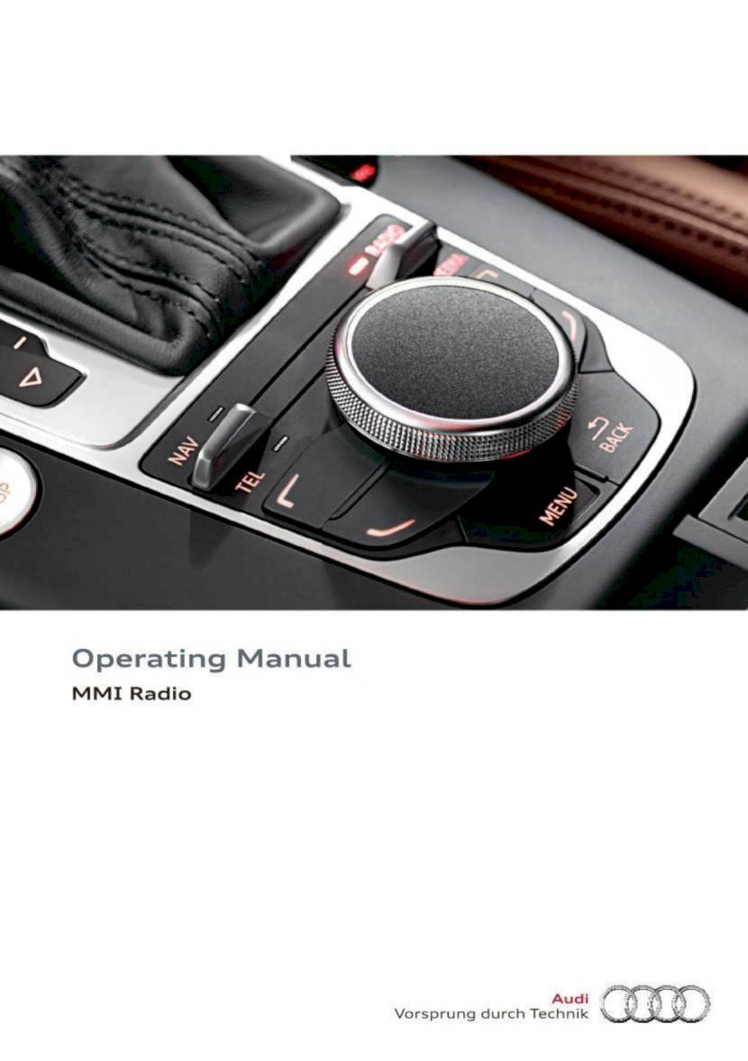 2016 audi a3   s3 operating manual mmi radio 48 audi a3 mmi navigation plus manual audi a3 mmi navigation plus manual pdf