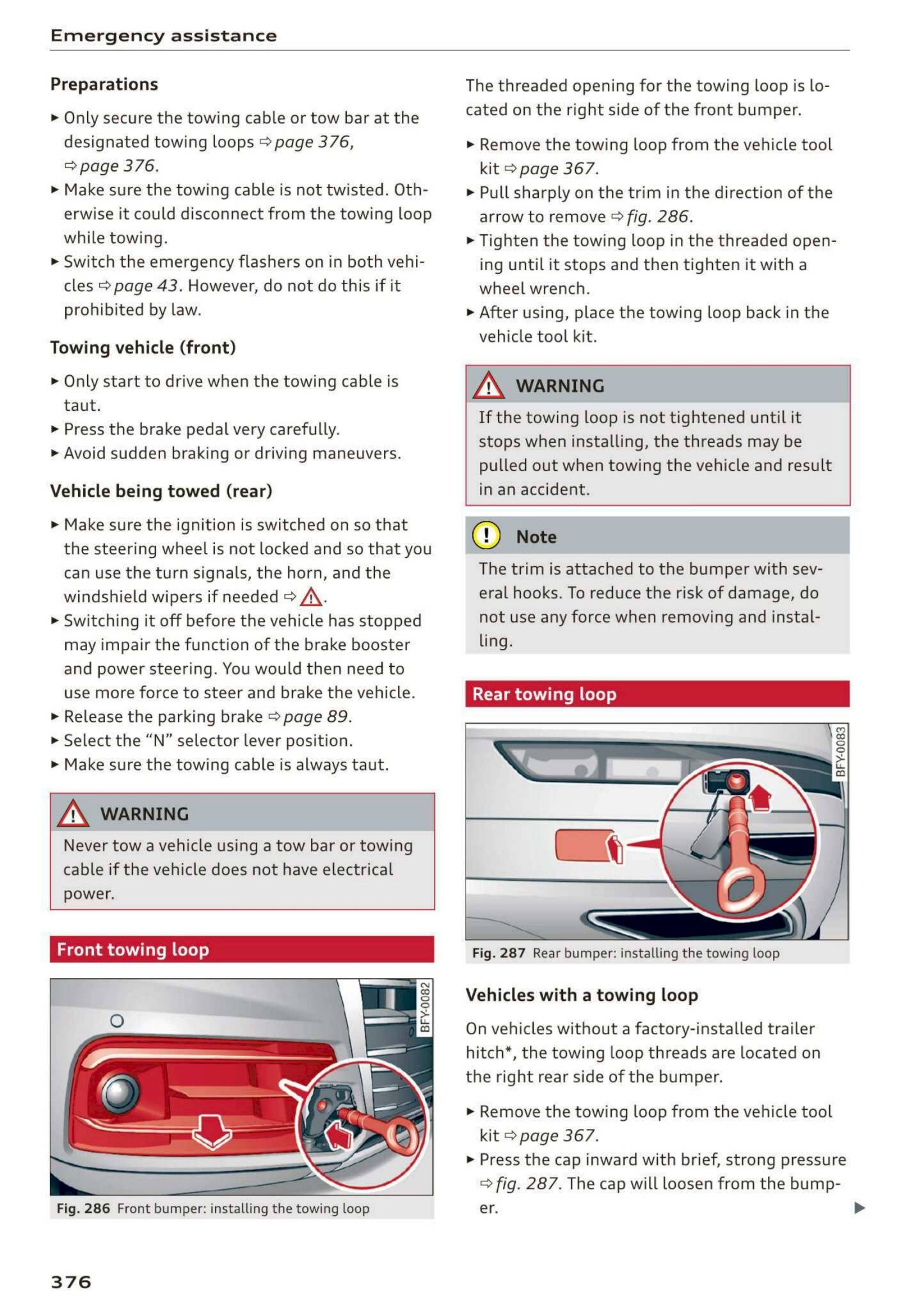 2020 Audi Q5 Sq5 Owner S Manual Page 378 Pdf