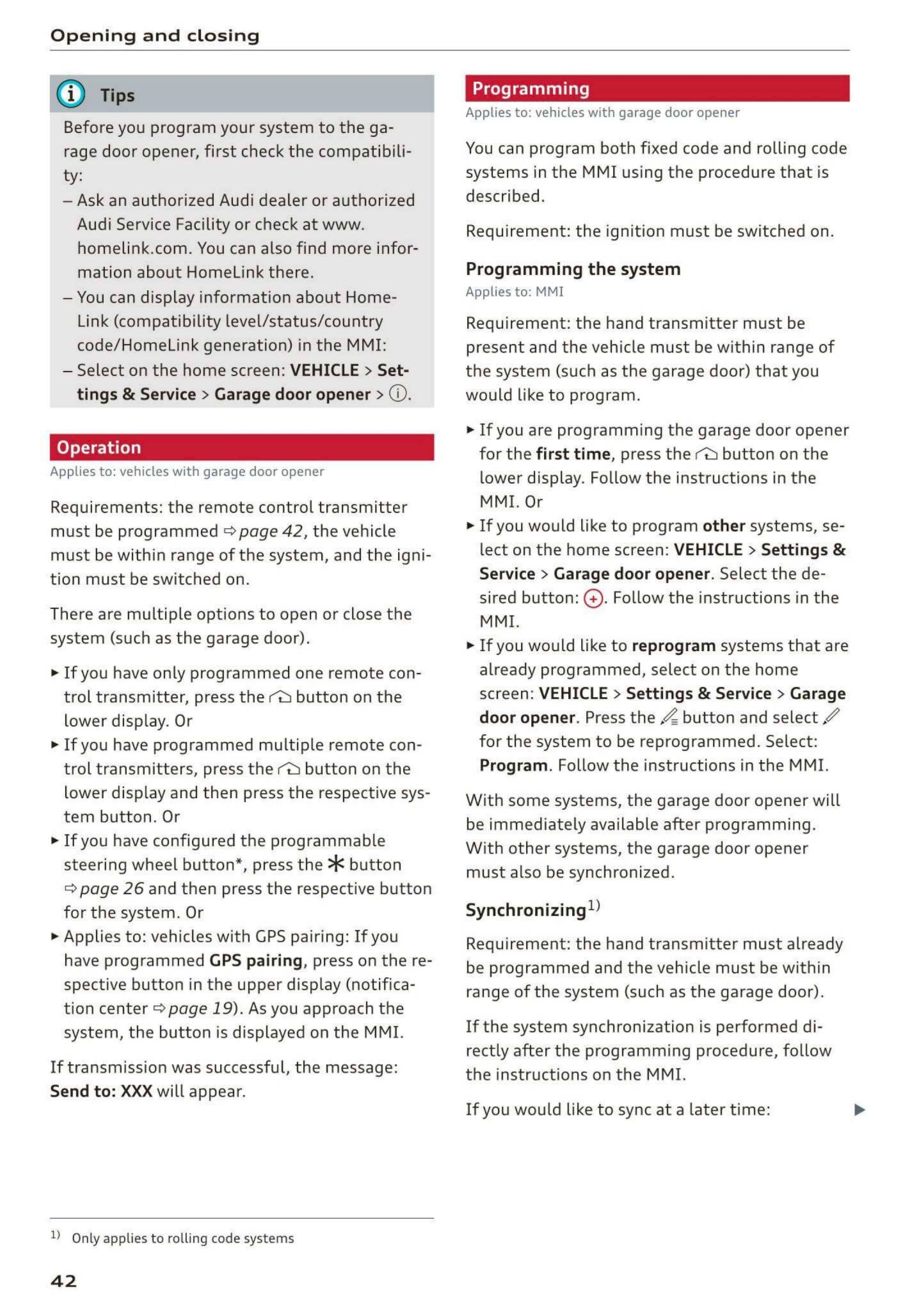 2019 Audi E Tron Owner S Manual Page 44 Pdf