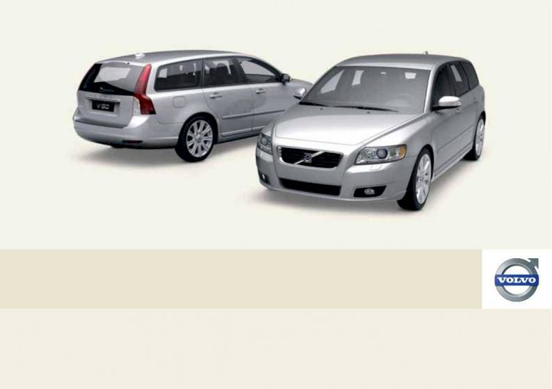 2010 volvo v50 owner s manual 292 pages pdf rh ownersmanuals2 com Volvo S60 Volvo XC60