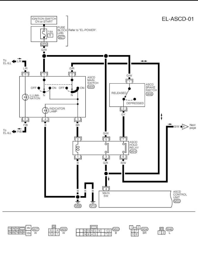 2000 Xterra Wiring Diagram