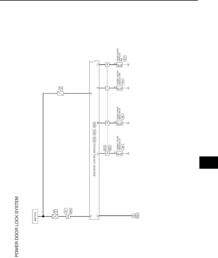 2012 Nissan Versa – Repair Manual - Door & Lock (Section DLK) – Page #21 –  PDF