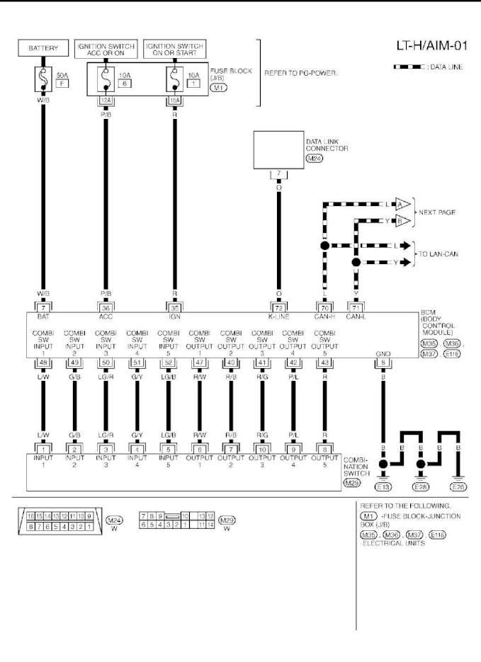 2003 Nissan Murano Wiring Diagram