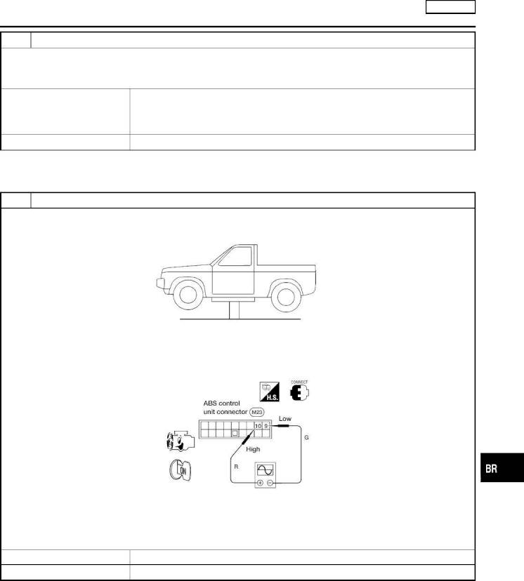 2002 Nissan Frontier Repair Manual Brake System Section Br Front Airbag Sensor Xterra 2 Check Wheel
