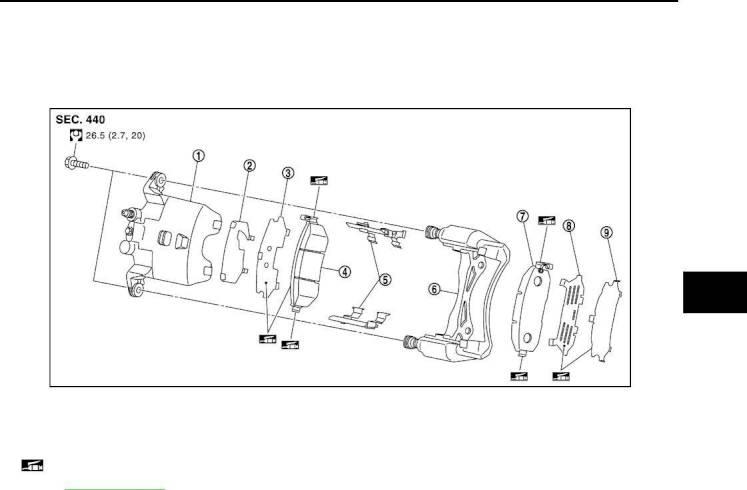 Disc Brake System Diagram