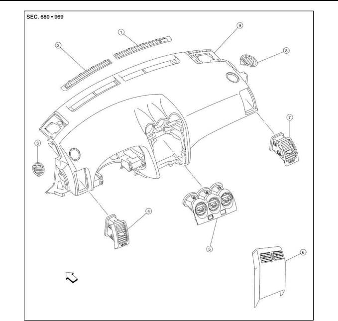 2009 Nissan Altima Repair Manual Ventilation System Section Vtl Engine Diagram 24