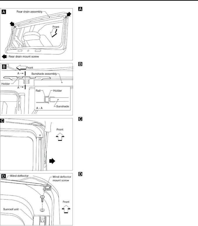 ... Array - 2000 nissan altima u2013 repair manual body u0026 trim section  bt u2013 page rh