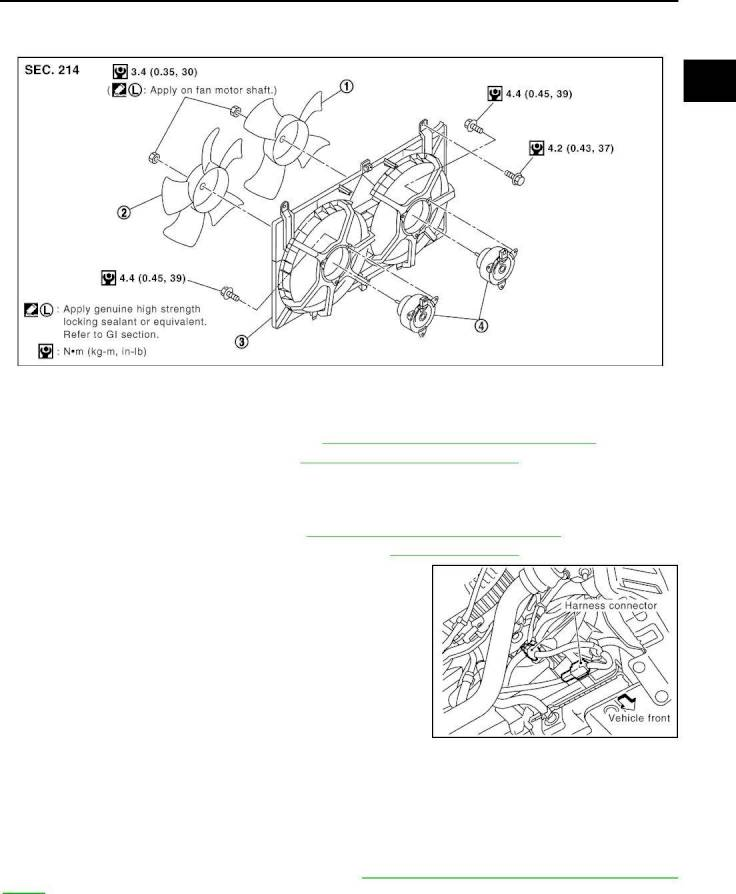 2005 Nissan 350z Engine Diagram Repair Manual Enging Cooling System Section Co