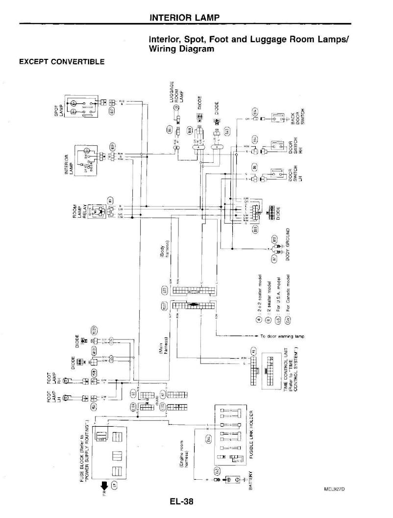 1995 nissan 300zx – repair manual - electrical system (section el) – page  #38 – pdf  ownersmanuals2.com