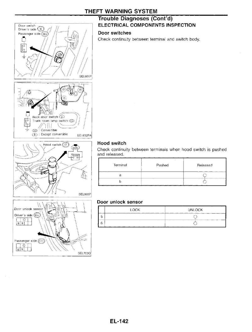 nissan 300zx lights wiring diagram 1995 nissan 300zx     repair manual electrical system  section el  1995 nissan 300zx     repair manual