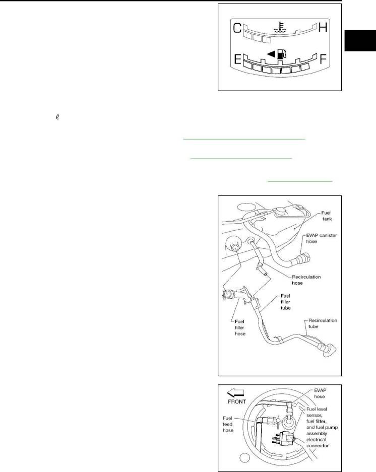2006 Nissan Quest Repair Manual Fuel System Section Fl Page 9 Pdf