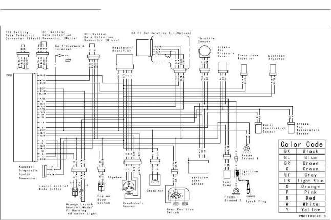 2016 kawasaki kx250f owner's manual page 202 pdf kawasaki zzr600 wiring diagram 2014 kawasaki kx250f wiring diagram #5