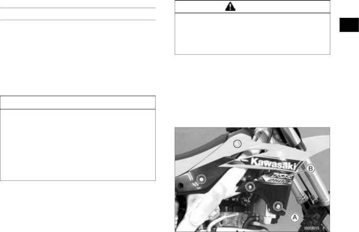 2015 Kawasaki Kx250f Owners Manual Page 44 Pdf
