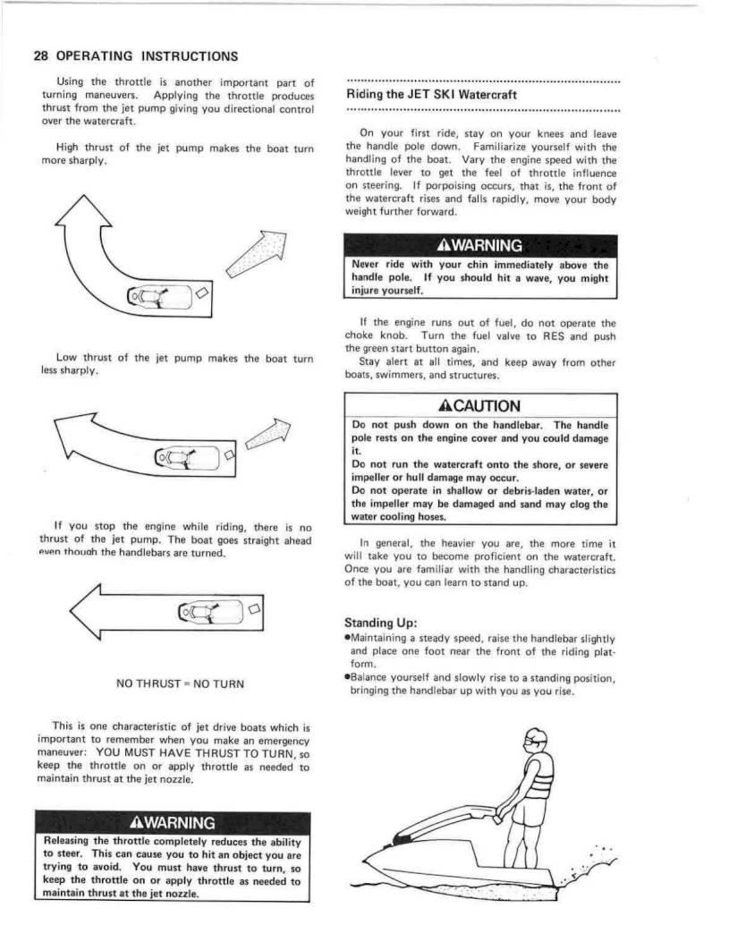 Kawasaki Jetmate Owners Manual