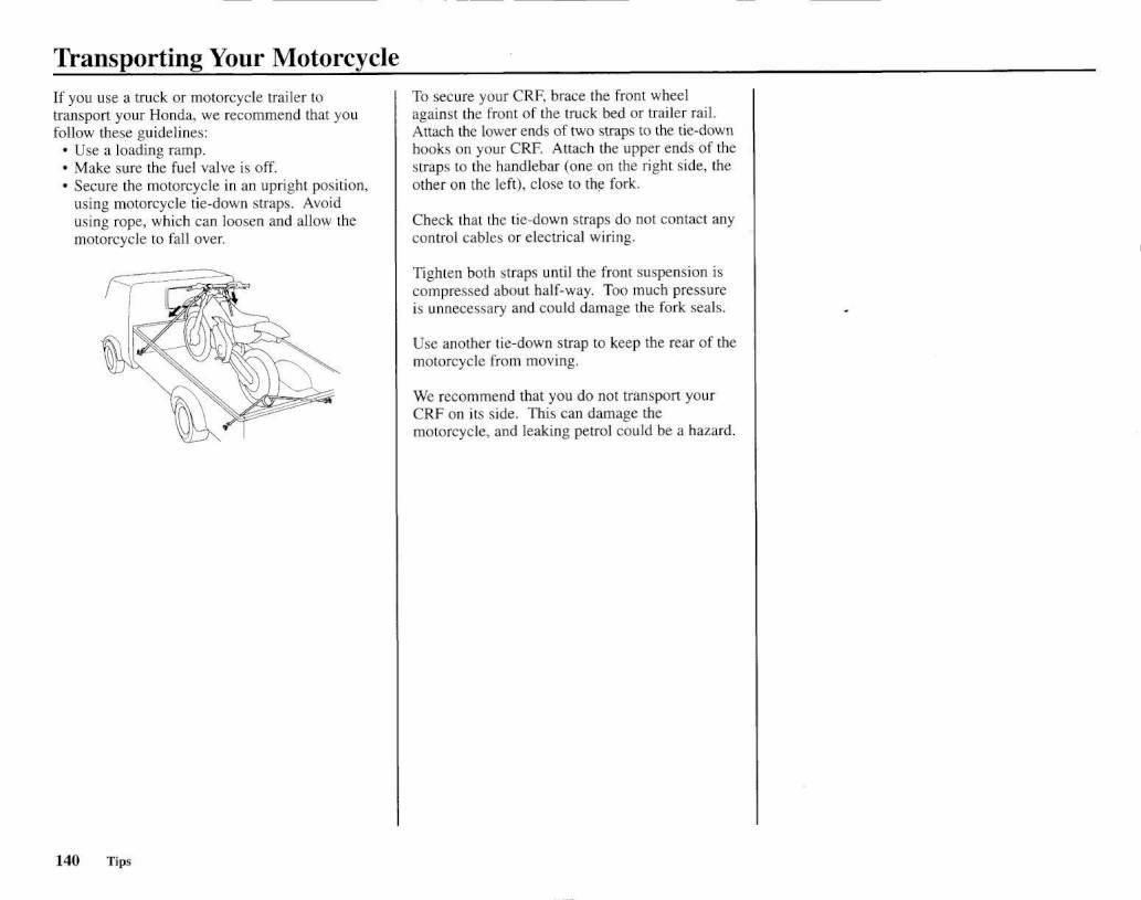 2008 Honda Crf450r Owners Manual Page 148 Pdf Crf Wiring Diagram